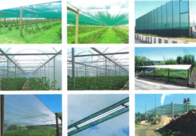 Cosio shade cloth, windbreaks and crop protection